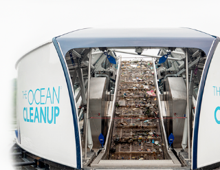 The Ocean Cleanup Slider